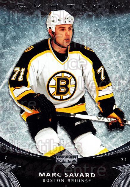 2006-07 UD Ovation #151 Marc Savard<br/>4 In Stock - $1.00 each - <a href=https://centericecollectibles.foxycart.com/cart?name=2006-07%20UD%20Ovation%20%23151%20Marc%20Savard...&quantity_max=4&price=$1.00&code=215065 class=foxycart> Buy it now! </a>