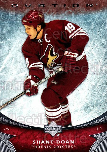 2006-07 UD Ovation #188 Shane Doan<br/>4 In Stock - $1.00 each - <a href=https://centericecollectibles.foxycart.com/cart?name=2006-07%20UD%20Ovation%20%23188%20Shane%20Doan...&quantity_max=4&price=$1.00&code=215102 class=foxycart> Buy it now! </a>