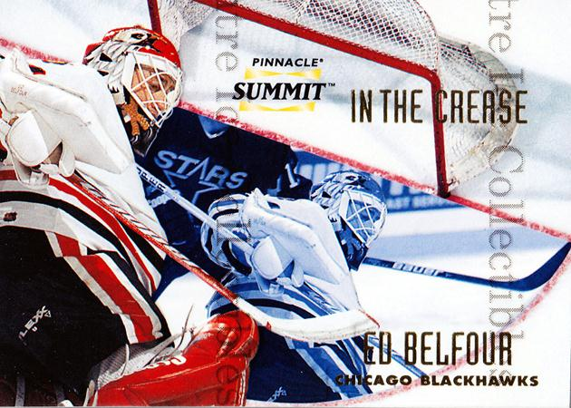 1996-97 Summit In The Crease #3 Ed Belfour<br/>3 In Stock - $5.00 each - <a href=https://centericecollectibles.foxycart.com/cart?name=1996-97%20Summit%20In%20The%20Crease%20%233%20Ed%20Belfour...&price=$5.00&code=215173 class=foxycart> Buy it now! </a>