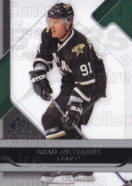 2008-09 Sp Game Used #32 Brad Richards<br/>2 In Stock - $1.00 each - <a href=https://centericecollectibles.foxycart.com/cart?name=2008-09%20Sp%20Game%20Used%20%2332%20Brad%20Richards...&quantity_max=2&price=$1.00&code=215210 class=foxycart> Buy it now! </a>