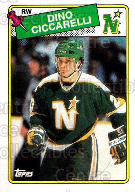 1988-89 Topps #175 Dino Ciccarelli<br/>6 In Stock - $1.00 each - <a href=https://centericecollectibles.foxycart.com/cart?name=1988-89%20Topps%20%23175%20Dino%20Ciccarelli...&quantity_max=6&price=$1.00&code=21535 class=foxycart> Buy it now! </a>