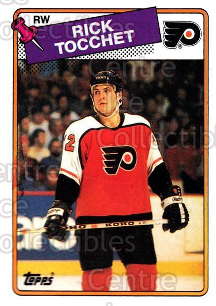1988-89 Topps #177 Rick Tocchet<br/>7 In Stock - $1.00 each - <a href=https://centericecollectibles.foxycart.com/cart?name=1988-89%20Topps%20%23177%20Rick%20Tocchet...&quantity_max=7&price=$1.00&code=21537 class=foxycart> Buy it now! </a>