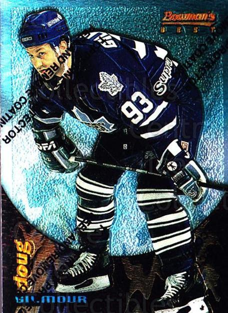1994-95 Finest Bowmans Best Blue #19 Doug Gilmour<br/>5 In Stock - $2.00 each - <a href=https://centericecollectibles.foxycart.com/cart?name=1994-95%20Finest%20Bowmans%20Best%20Blue%20%2319%20Doug%20Gilmour...&quantity_max=5&price=$2.00&code=215382 class=foxycart> Buy it now! </a>