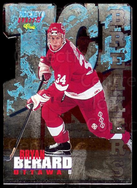 1995 Classic Ice Breakers Die Cuts #1 Bryan Berard<br/>1 In Stock - $5.00 each - <a href=https://centericecollectibles.foxycart.com/cart?name=1995%20Classic%20Ice%20Breakers%20Die%20Cuts%20%231%20Bryan%20Berard...&price=$5.00&code=215522 class=foxycart> Buy it now! </a>