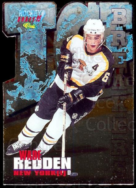 1995 Classic Ice Breakers Die Cuts #2 Wade Redden<br/>1 In Stock - $5.00 each - <a href=https://centericecollectibles.foxycart.com/cart?name=1995%20Classic%20Ice%20Breakers%20Die%20Cuts%20%232%20Wade%20Redden...&price=$5.00&code=215523 class=foxycart> Buy it now! </a>