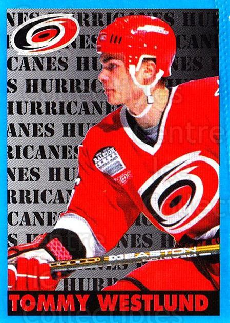 1999-00 Panini Stickers #51 Tommy Westlund<br/>3 In Stock - $1.00 each - <a href=https://centericecollectibles.foxycart.com/cart?name=1999-00%20Panini%20Stickers%20%2351%20Tommy%20Westlund...&quantity_max=3&price=$1.00&code=215824 class=foxycart> Buy it now! </a>