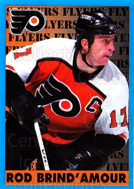 1999-00 Panini Stickers #124 Rod Brind'Amour<br/>1 In Stock - $1.00 each - <a href=https://centericecollectibles.foxycart.com/cart?name=1999-00%20Panini%20Stickers%20%23124%20Rod%20Brind'Amour...&quantity_max=1&price=$1.00&code=215828 class=foxycart> Buy it now! </a>