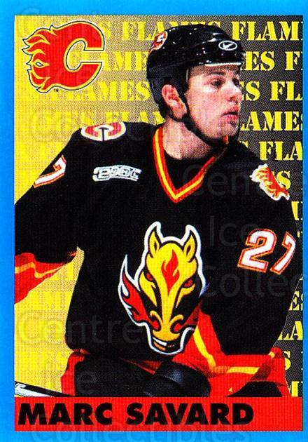 1999-00 Panini Stickers #194 Marc Savard<br/>3 In Stock - $1.00 each - <a href=https://centericecollectibles.foxycart.com/cart?name=1999-00%20Panini%20Stickers%20%23194%20Marc%20Savard...&quantity_max=3&price=$1.00&code=215833 class=foxycart> Buy it now! </a>
