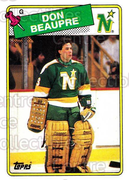 1988-89 Topps #42 Don Beaupre<br/>6 In Stock - $1.00 each - <a href=https://centericecollectibles.foxycart.com/cart?name=1988-89%20Topps%20%2342%20Don%20Beaupre...&quantity_max=6&price=$1.00&code=21583 class=foxycart> Buy it now! </a>