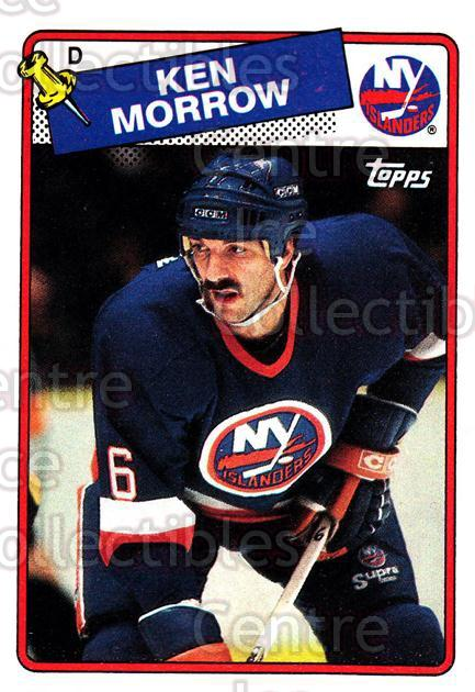1988-89 Topps #53 Ken Morrow<br/>4 In Stock - $1.00 each - <a href=https://centericecollectibles.foxycart.com/cart?name=1988-89%20Topps%20%2353%20Ken%20Morrow...&quantity_max=4&price=$1.00&code=21595 class=foxycart> Buy it now! </a>
