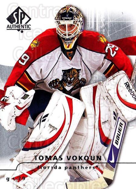2008-09 Sp Authentic #6 Tomas Vokoun<br/>5 In Stock - $1.00 each - <a href=https://centericecollectibles.foxycart.com/cart?name=2008-09%20Sp%20Authentic%20%236%20Tomas%20Vokoun...&quantity_max=5&price=$1.00&code=215972 class=foxycart> Buy it now! </a>