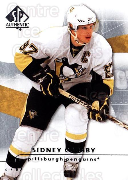 2008-09 Sp Authentic #10 Sidney Crosby<br/>4 In Stock - $3.00 each - <a href=https://centericecollectibles.foxycart.com/cart?name=2008-09%20Sp%20Authentic%20%2310%20Sidney%20Crosby...&price=$3.00&code=215976 class=foxycart> Buy it now! </a>
