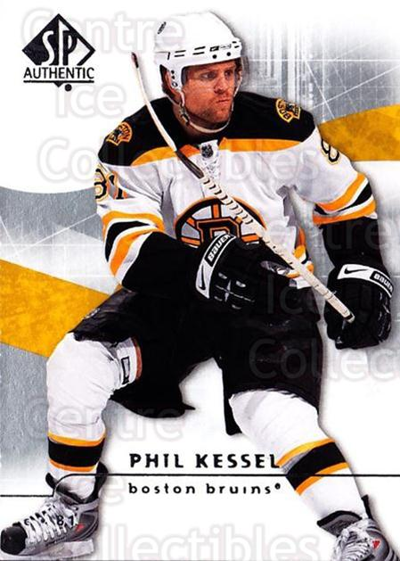 2008-09 Sp Authentic #21 Phil Kessel<br/>5 In Stock - $1.00 each - <a href=https://centericecollectibles.foxycart.com/cart?name=2008-09%20Sp%20Authentic%20%2321%20Phil%20Kessel...&quantity_max=5&price=$1.00&code=215987 class=foxycart> Buy it now! </a>