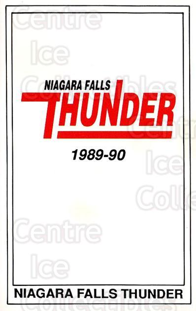 1989-90 Niagara Falls Thunder #24 Header Card<br/>8 In Stock - $3.00 each - <a href=https://centericecollectibles.foxycart.com/cart?name=1989-90%20Niagara%20Falls%20Thunder%20%2324%20Header%20Card...&quantity_max=8&price=$3.00&code=215 class=foxycart> Buy it now! </a>