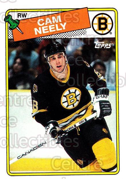 1988-89 Topps #58 Cam Neely<br/>5 In Stock - $1.00 each - <a href=https://centericecollectibles.foxycart.com/cart?name=1988-89%20Topps%20%2358%20Cam%20Neely...&quantity_max=5&price=$1.00&code=21600 class=foxycart> Buy it now! </a>