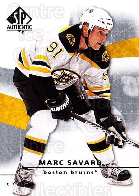 2008-09 Sp Authentic #52 Marc Savard<br/>5 In Stock - $1.00 each - <a href=https://centericecollectibles.foxycart.com/cart?name=2008-09%20Sp%20Authentic%20%2352%20Marc%20Savard...&quantity_max=5&price=$1.00&code=216018 class=foxycart> Buy it now! </a>