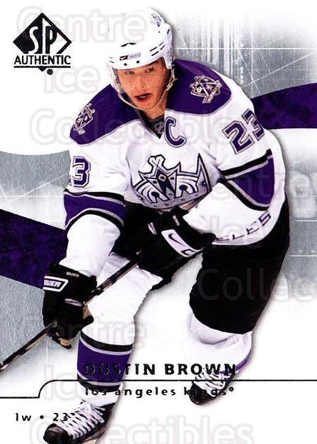 2008-09 Sp Authentic #65 Dustin Brown<br/>5 In Stock - $1.00 each - <a href=https://centericecollectibles.foxycart.com/cart?name=2008-09%20Sp%20Authentic%20%2365%20Dustin%20Brown...&quantity_max=5&price=$1.00&code=216031 class=foxycart> Buy it now! </a>