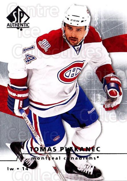 2008-09 Sp Authentic #70 Tomas Plekanec<br/>5 In Stock - $1.00 each - <a href=https://centericecollectibles.foxycart.com/cart?name=2008-09%20Sp%20Authentic%20%2370%20Tomas%20Plekanec...&quantity_max=5&price=$1.00&code=216036 class=foxycart> Buy it now! </a>