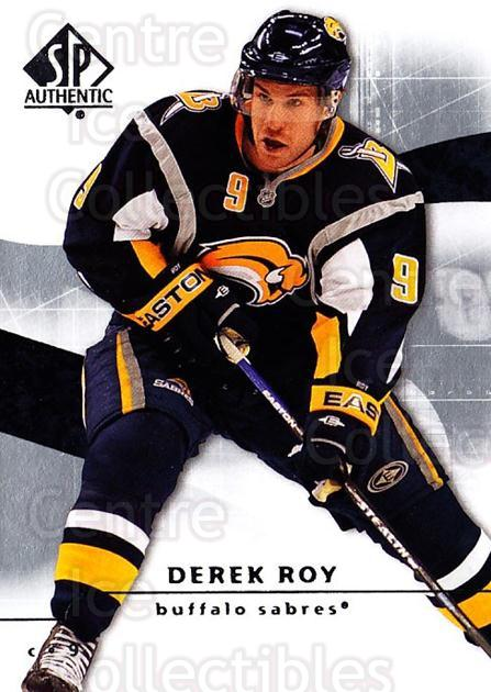 2008-09 Sp Authentic #76 Derek Roy<br/>5 In Stock - $1.00 each - <a href=https://centericecollectibles.foxycart.com/cart?name=2008-09%20Sp%20Authentic%20%2376%20Derek%20Roy...&quantity_max=5&price=$1.00&code=216042 class=foxycart> Buy it now! </a>