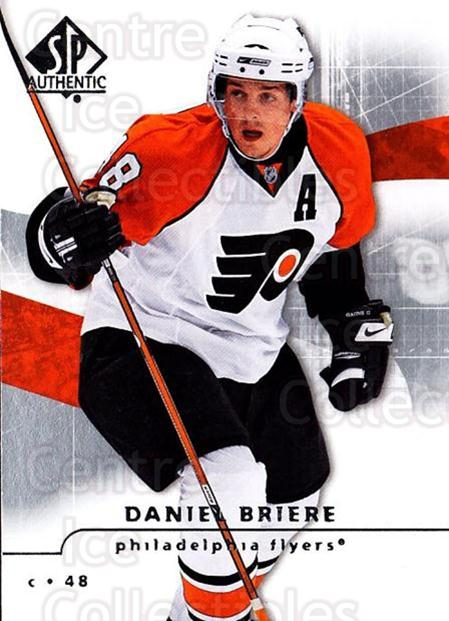 2008-09 Sp Authentic #79 Daniel Briere<br/>5 In Stock - $1.00 each - <a href=https://centericecollectibles.foxycart.com/cart?name=2008-09%20Sp%20Authentic%20%2379%20Daniel%20Briere...&quantity_max=5&price=$1.00&code=216045 class=foxycart> Buy it now! </a>