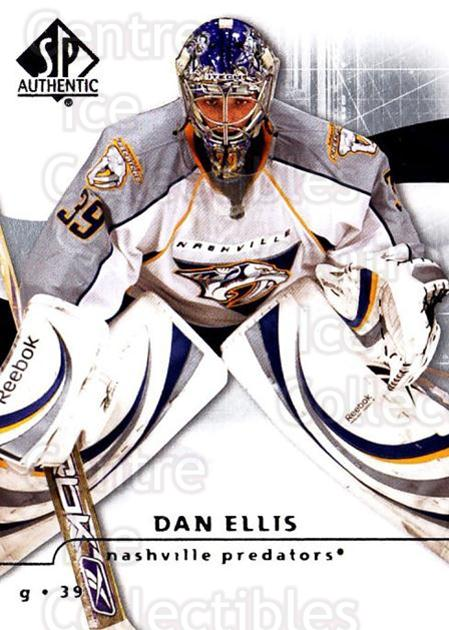 2008-09 Sp Authentic #81 Dan Ellis<br/>4 In Stock - $1.00 each - <a href=https://centericecollectibles.foxycart.com/cart?name=2008-09%20Sp%20Authentic%20%2381%20Dan%20Ellis...&quantity_max=4&price=$1.00&code=216047 class=foxycart> Buy it now! </a>