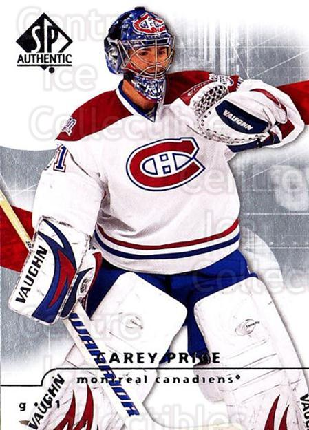 2008-09 Sp Authentic #87 Carey Price<br/>4 In Stock - $1.00 each - <a href=https://centericecollectibles.foxycart.com/cart?name=2008-09%20Sp%20Authentic%20%2387%20Carey%20Price...&price=$1.00&code=216053 class=foxycart> Buy it now! </a>