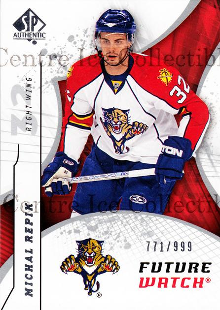 2008-09 Sp Authentic #166 Michal Repik<br/>1 In Stock - $5.00 each - <a href=https://centericecollectibles.foxycart.com/cart?name=2008-09%20Sp%20Authentic%20%23166%20Michal%20Repik...&price=$5.00&code=216132 class=foxycart> Buy it now! </a>
