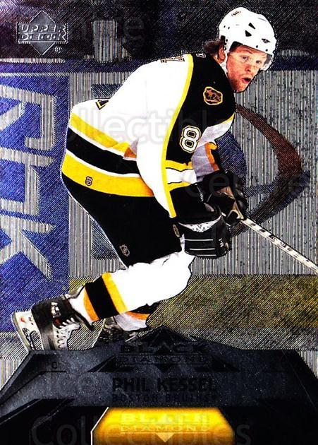 2007-08 Black Diamond #87 Phil Kessel<br/>4 In Stock - $2.00 each - <a href=https://centericecollectibles.foxycart.com/cart?name=2007-08%20Black%20Diamond%20%2387%20Phil%20Kessel...&quantity_max=4&price=$2.00&code=216269 class=foxycart> Buy it now! </a>