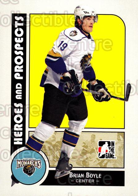2008-09 ITG Heroes and Prospects #16 Brian Boyle<br/>130 In Stock - $1.00 each - <a href=https://centericecollectibles.foxycart.com/cart?name=2008-09%20ITG%20Heroes%20and%20Prospects%20%2316%20Brian%20Boyle...&price=$1.00&code=216394 class=foxycart> Buy it now! </a>