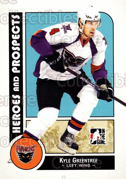2008-09 ITG Heroes and Prospects #29 Kyle Greentree<br/>127 In Stock - $1.00 each - <a href=https://centericecollectibles.foxycart.com/cart?name=2008-09%20ITG%20Heroes%20and%20Prospects%20%2329%20Kyle%20Greentree...&price=$1.00&code=216407 class=foxycart> Buy it now! </a>