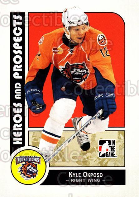 2008-09 ITG Heroes and Prospects #30 Kyle Okposo<br/>30 In Stock - $1.00 each - <a href=https://centericecollectibles.foxycart.com/cart?name=2008-09%20ITG%20Heroes%20and%20Prospects%20%2330%20Kyle%20Okposo...&price=$1.00&code=216408 class=foxycart> Buy it now! </a>