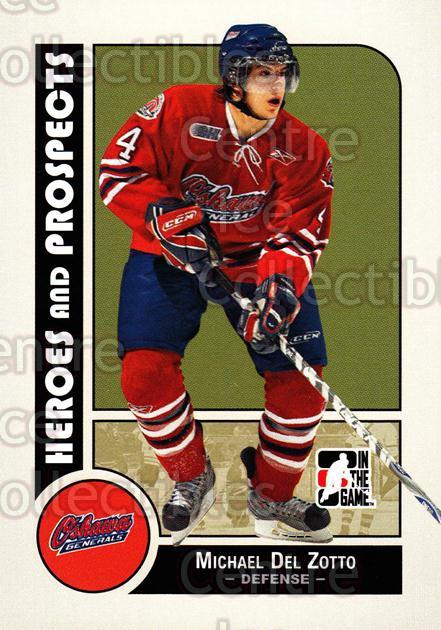 2008-09 ITG Heroes and Prospects #53 Michael Del Zotto<br/>128 In Stock - $1.00 each - <a href=https://centericecollectibles.foxycart.com/cart?name=2008-09%20ITG%20Heroes%20and%20Prospects%20%2353%20Michael%20Del%20Zot...&price=$1.00&code=216431 class=foxycart> Buy it now! </a>