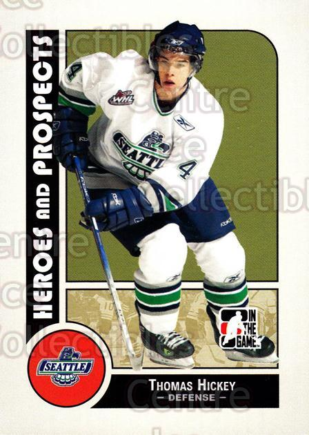 2008-09 ITG Heroes and Prospects #80 Thomas Hickey<br/>28 In Stock - $1.00 each - <a href=https://centericecollectibles.foxycart.com/cart?name=2008-09%20ITG%20Heroes%20and%20Prospects%20%2380%20Thomas%20Hickey...&price=$1.00&code=216458 class=foxycart> Buy it now! </a>