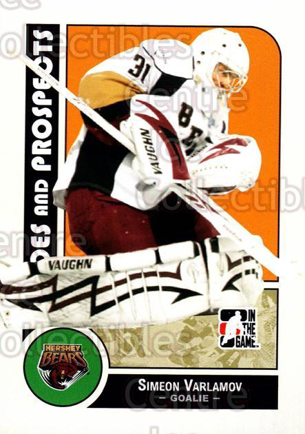 2008-09 ITG Heroes and Prospects #110 Simeon Varlamov<br/>12 In Stock - $2.00 each - <a href=https://centericecollectibles.foxycart.com/cart?name=2008-09%20ITG%20Heroes%20and%20Prospects%20%23110%20Simeon%20Varlamov...&price=$2.00&code=216488 class=foxycart> Buy it now! </a>