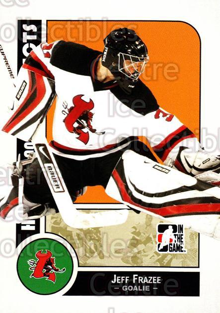 2008-09 ITG Heroes and Prospects #115 Jeff Frazee<br/>9 In Stock - $1.00 each - <a href=https://centericecollectibles.foxycart.com/cart?name=2008-09%20ITG%20Heroes%20and%20Prospects%20%23115%20Jeff%20Frazee...&price=$1.00&code=216493 class=foxycart> Buy it now! </a>