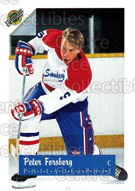 1991 Ultimate Draft French #5 Peter Forsberg<br/>6 In Stock - $2.00 each - <a href=https://centericecollectibles.foxycart.com/cart?name=1991%20Ultimate%20Draft%20French%20%235%20Peter%20Forsberg...&quantity_max=6&price=$2.00&code=216530 class=foxycart> Buy it now! </a>
