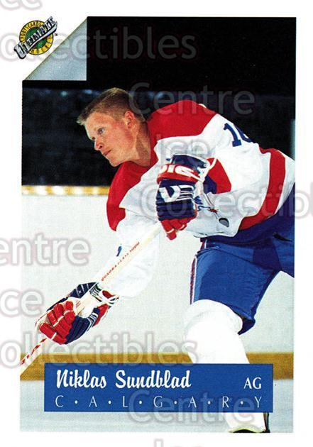 1991 Ultimate Draft French #16 Niklas Sundblad<br/>11 In Stock - $1.00 each - <a href=https://centericecollectibles.foxycart.com/cart?name=1991%20Ultimate%20Draft%20French%20%2316%20Niklas%20Sundblad...&quantity_max=11&price=$1.00&code=216532 class=foxycart> Buy it now! </a>