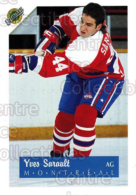 1991 Ultimate Draft French #44 Yves Sarault<br/>10 In Stock - $1.00 each - <a href=https://centericecollectibles.foxycart.com/cart?name=1991%20Ultimate%20Draft%20French%20%2344%20Yves%20Sarault...&quantity_max=10&price=$1.00&code=216538 class=foxycart> Buy it now! </a>