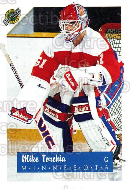 1991 Ultimate Draft French #50 Mike Torchia<br/>10 In Stock - $1.00 each - <a href=https://centericecollectibles.foxycart.com/cart?name=1991%20Ultimate%20Draft%20French%20%2350%20Mike%20Torchia...&quantity_max=10&price=$1.00&code=216539 class=foxycart> Buy it now! </a>