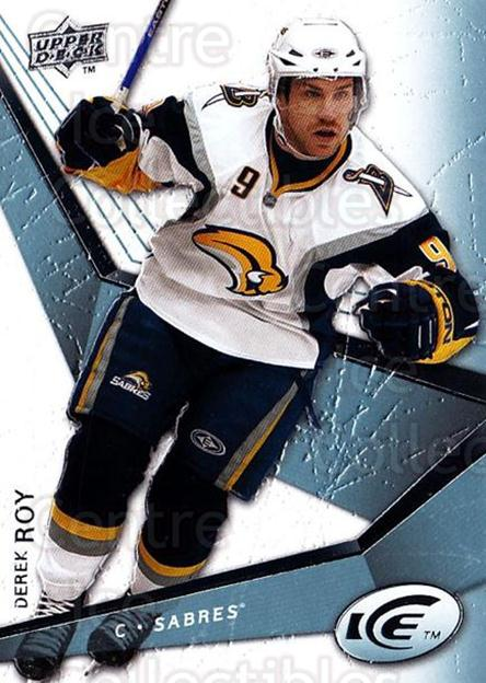 2008-09 UD Ice #24 Derek Roy<br/>5 In Stock - $1.00 each - <a href=https://centericecollectibles.foxycart.com/cart?name=2008-09%20UD%20Ice%20%2324%20Derek%20Roy...&quantity_max=5&price=$1.00&code=216569 class=foxycart> Buy it now! </a>