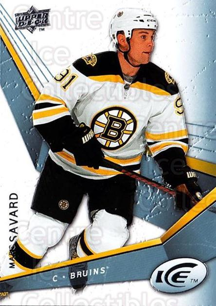 2008-09 UD Ice #46 Marc Savard<br/>5 In Stock - $1.00 each - <a href=https://centericecollectibles.foxycart.com/cart?name=2008-09%20UD%20Ice%20%2346%20Marc%20Savard...&quantity_max=5&price=$1.00&code=216591 class=foxycart> Buy it now! </a>