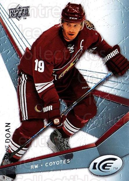 2008-09 UD Ice #87 Shane Doan<br/>5 In Stock - $1.00 each - <a href=https://centericecollectibles.foxycart.com/cart?name=2008-09%20UD%20Ice%20%2387%20Shane%20Doan...&quantity_max=5&price=$1.00&code=216632 class=foxycart> Buy it now! </a>