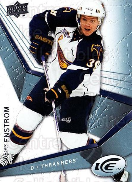 2008-09 UD Ice #93 Tobias Enstrom<br/>5 In Stock - $1.00 each - <a href=https://centericecollectibles.foxycart.com/cart?name=2008-09%20UD%20Ice%20%2393%20Tobias%20Enstrom...&quantity_max=5&price=$1.00&code=216638 class=foxycart> Buy it now! </a>