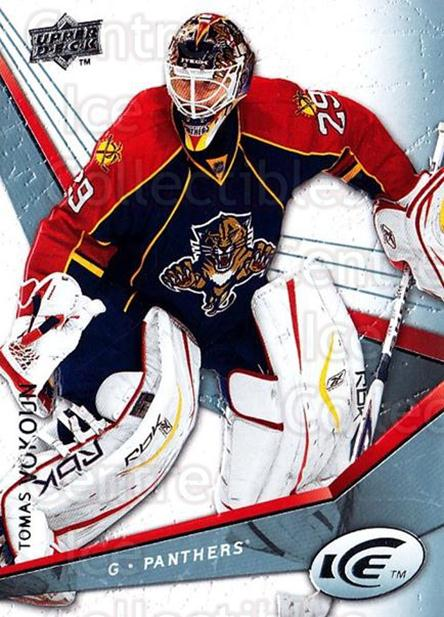 2008-09 UD Ice #95 Tomas Vokoun<br/>5 In Stock - $1.00 each - <a href=https://centericecollectibles.foxycart.com/cart?name=2008-09%20UD%20Ice%20%2395%20Tomas%20Vokoun...&quantity_max=5&price=$1.00&code=216640 class=foxycart> Buy it now! </a>
