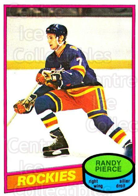 1980-81 O-Pee-Chee #340 Randy Pierce<br/>1 In Stock - $2.00 each - <a href=https://centericecollectibles.foxycart.com/cart?name=1980-81%20O-Pee-Chee%20%23340%20Randy%20Pierce...&quantity_max=1&price=$2.00&code=216941 class=foxycart> Buy it now! </a>