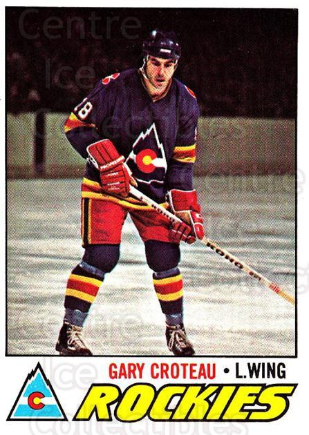 1977-78 O-pee-chee #52 Gary Croteau<br/>2 In Stock - $2.00 each - <a href=https://centericecollectibles.foxycart.com/cart?name=1977-78%20O-pee-chee%20%2352%20Gary%20Croteau...&quantity_max=2&price=$2.00&code=217006 class=foxycart> Buy it now! </a>