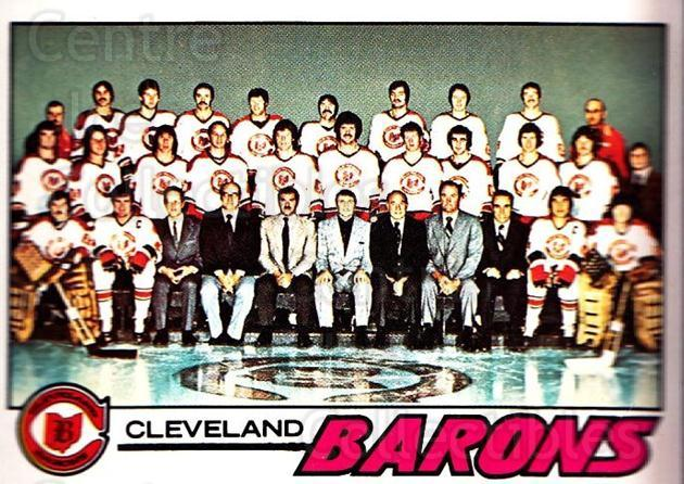 1977-78 O-pee-chee #75 Cleveland Barons, Checklist<br/>1 In Stock - $3.00 each - <a href=https://centericecollectibles.foxycart.com/cart?name=1977-78%20O-pee-chee%20%2375%20Cleveland%20Baron...&price=$3.00&code=217029 class=foxycart> Buy it now! </a>