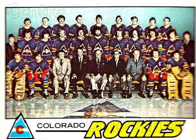1977-78 O-pee-chee #76 Colorado Rockies, Checklist<br/>1 In Stock - $3.00 each - <a href=https://centericecollectibles.foxycart.com/cart?name=1977-78%20O-pee-chee%20%2376%20Colorado%20Rockie...&quantity_max=1&price=$3.00&code=217030 class=foxycart> Buy it now! </a>