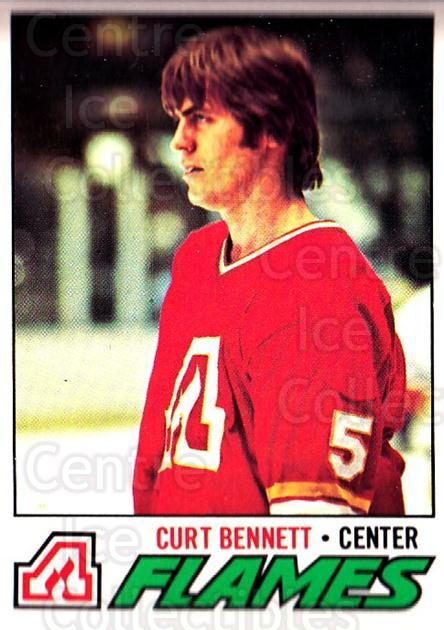 1977-78 O-pee-chee #97 Curt Bennett<br/>1 In Stock - $2.00 each - <a href=https://centericecollectibles.foxycart.com/cart?name=1977-78%20O-pee-chee%20%2397%20Curt%20Bennett...&quantity_max=1&price=$2.00&code=217051 class=foxycart> Buy it now! </a>