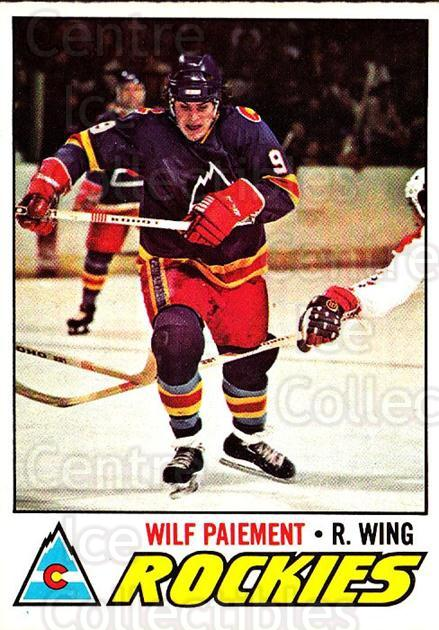 1977-78 O-pee-chee #130 Wilf Paiement<br/>2 In Stock - $2.00 each - <a href=https://centericecollectibles.foxycart.com/cart?name=1977-78%20O-pee-chee%20%23130%20Wilf%20Paiement...&quantity_max=2&price=$2.00&code=217084 class=foxycart> Buy it now! </a>